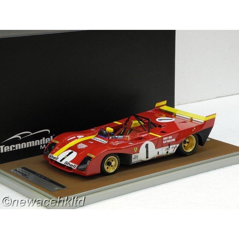 Ferrari 312PB 1972 1000KM di Monza ganador Tecnomodel 1 18  TM18-62C