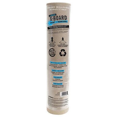 Floor Protection,100 ft L,Paperboard TRIMACO 12370