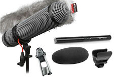 Sennheiser MKE 600 Shotgun Microphone W/ Rycote Super-Blimp NTG Windshield Kit