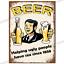 thumbnail 84 - Metal Signs Man Cave Retro Pub Bar Vintage Wall Plaque Beer Garage Shed Tin Cafe