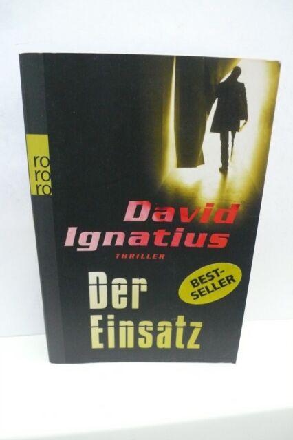 BUCH BESTSELLER KRIMI DER EINSATZ DAVID IGNATIUS THRILLER ROMAN TASCHENBUCH BOOK