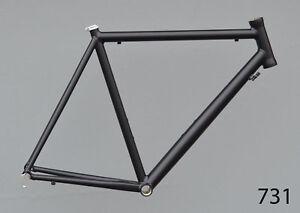 Onroad-Lite-Rennrad-Rahmen-RH-58-cm-in-schwarz-matt-1490g-FUR-NR731