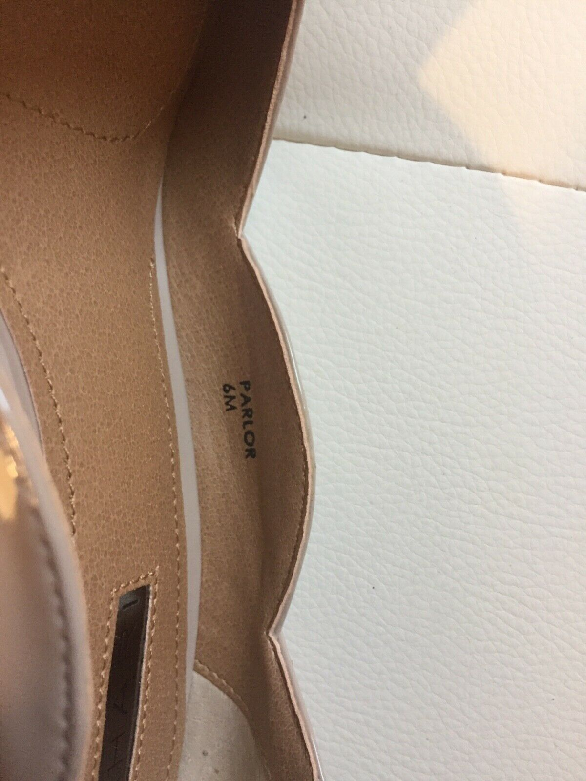 Tahari Brand New with box beige high heels shoes shoes shoes ,size 6 4fb00a