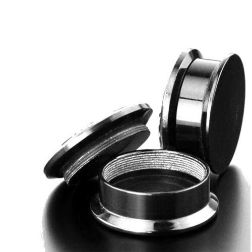 Skull /& Headphones Pair Acrylic Ear Plugs Screw Gauges Flesh Tunnels Earrings