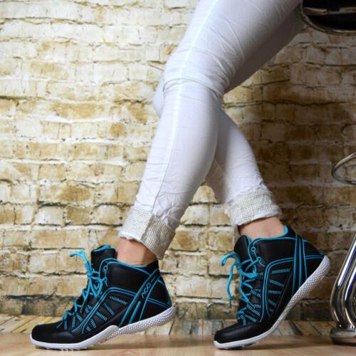 LuXus Designer Sportschuhe Sneaker Turnschuhe Damen Schuhe Blau Grün Schwarz