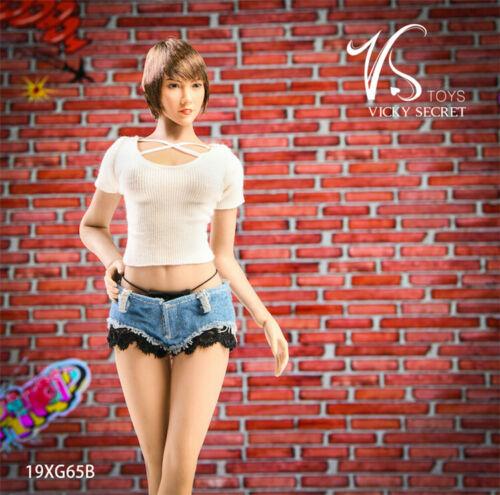 "VSTOYS 1//6 19XG65B Hot Pants Clothes F 12/"" Female Phicen TBL Figure Body Presale"
