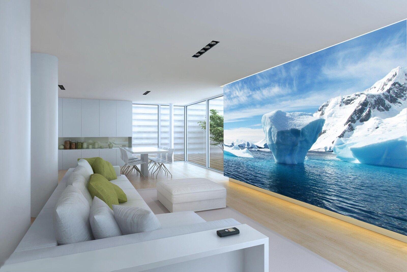 3D See Himmel Schneeberg 8803 Tapete Wandgemälde Tapeten Bild Familie DE Lemon | Starke Hitze- und Hitzebeständigkeit  | Die Qualität Und Die Verbraucher Zunächst  | Auktion