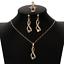 Women-Heart-Pendant-Choker-Chain-Crystal-Rhinestone-Necklace-Earring-Jewelry-Set thumbnail 65