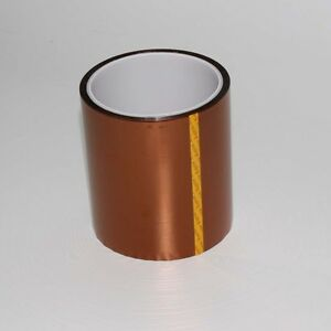100mm 10cm x 30M Kapton Tape High Temperature Heat Resistant Polyimide