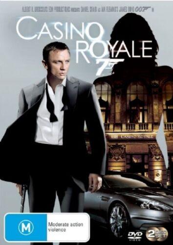1 of 1 - CASINO ROYALE 007 (2006 R4)(2 DISC SET) Daniel Craig JAMES BOND (NEW + SEALED)