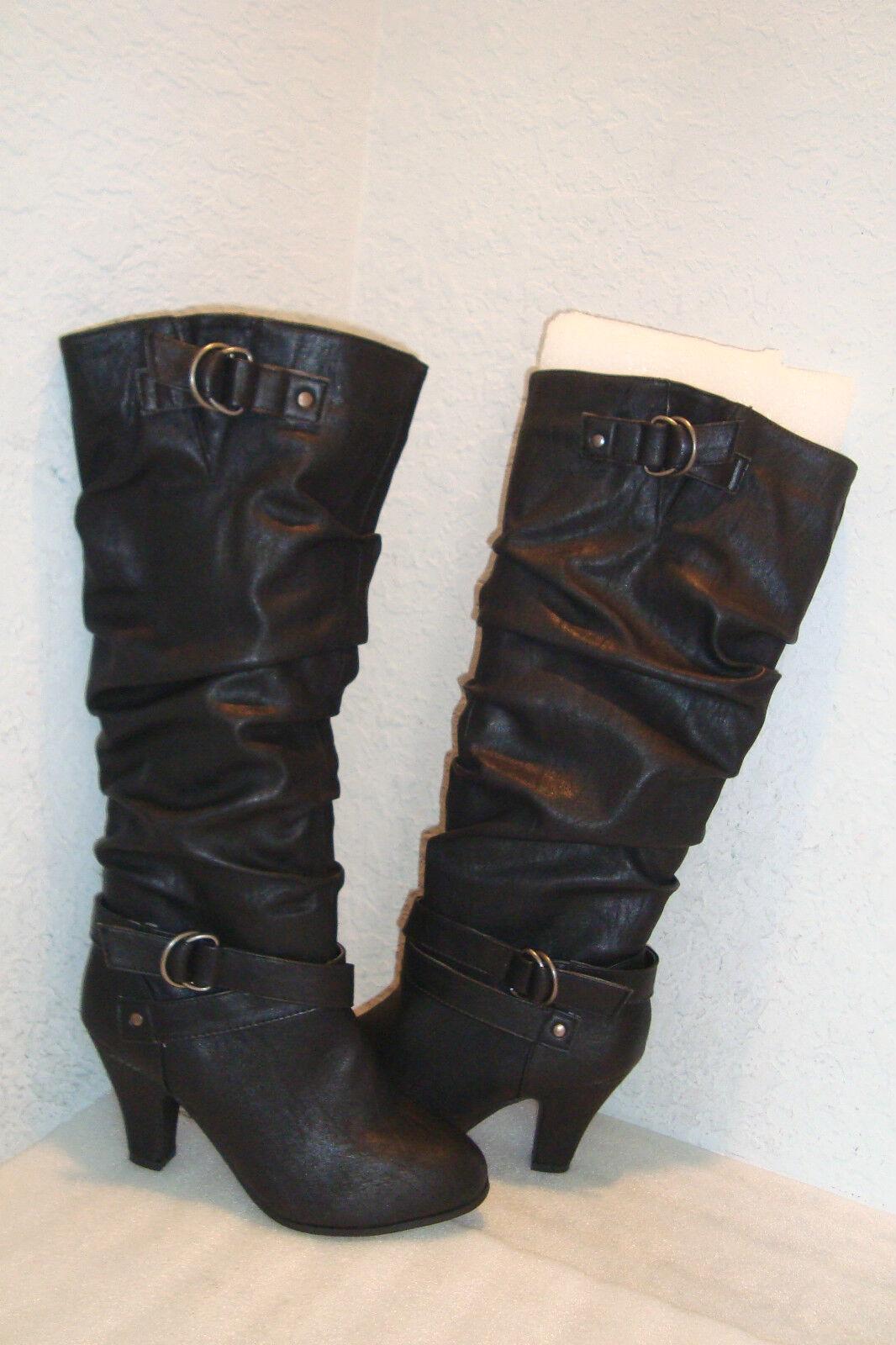 Style & Co botas para mujer Negro Nuevo Sin Sin Sin Caja Christie Zapatos 8.5 MED Nuevo  buena reputación