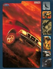 Ford Ranger 2000 USA Market Leaflet Brochure XL XLT Regular Super Cab 4x2 4x4