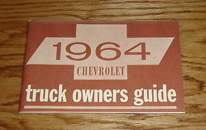 1964 Chevrolet Corvette Owners Operators Manual 64 Chevy