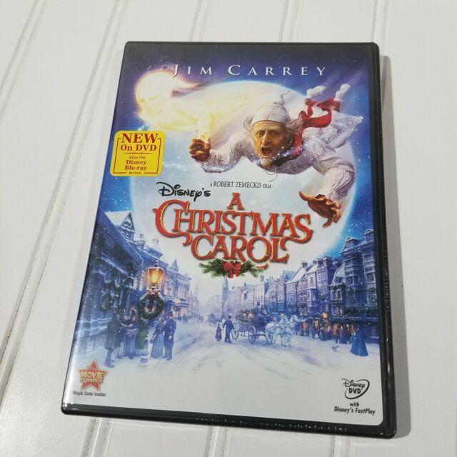 Disney's A Christmas Carol DVD Movie Jim Carrey Robert Zemeckis Sealed Holiday   eBay