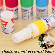 Thailand Poy-Sian Balm Mint Nasal Inhaler Dizzy Camphor For Runny Carsickness