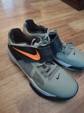 4d04032d9cbe 2012 Nike Zoom KD IV 4 ROGUE GREEN ORANGE BLACK WOLF GREY size 14