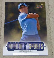 2011 Upper Deck NATALIE GULBIS World of Sports Golf card LPGA SI Swimsuit Hot