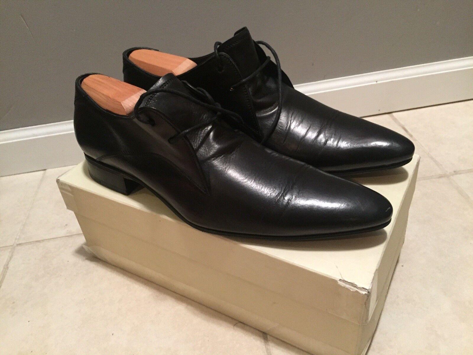 Zapatos de Cuero N.D.C. Made By Hand hetta Resina Negro