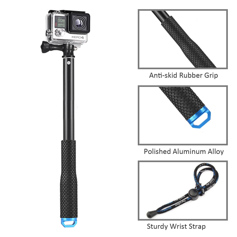 """37""""Waterproof Extension Pole Selfie Stick for Gopro hero HD 5 4 3+ 3 SJCAM EKEN 11"""