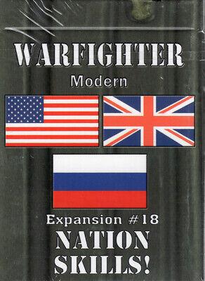 Warfighter Modern by DVG Expansion #18 Nation Skills New