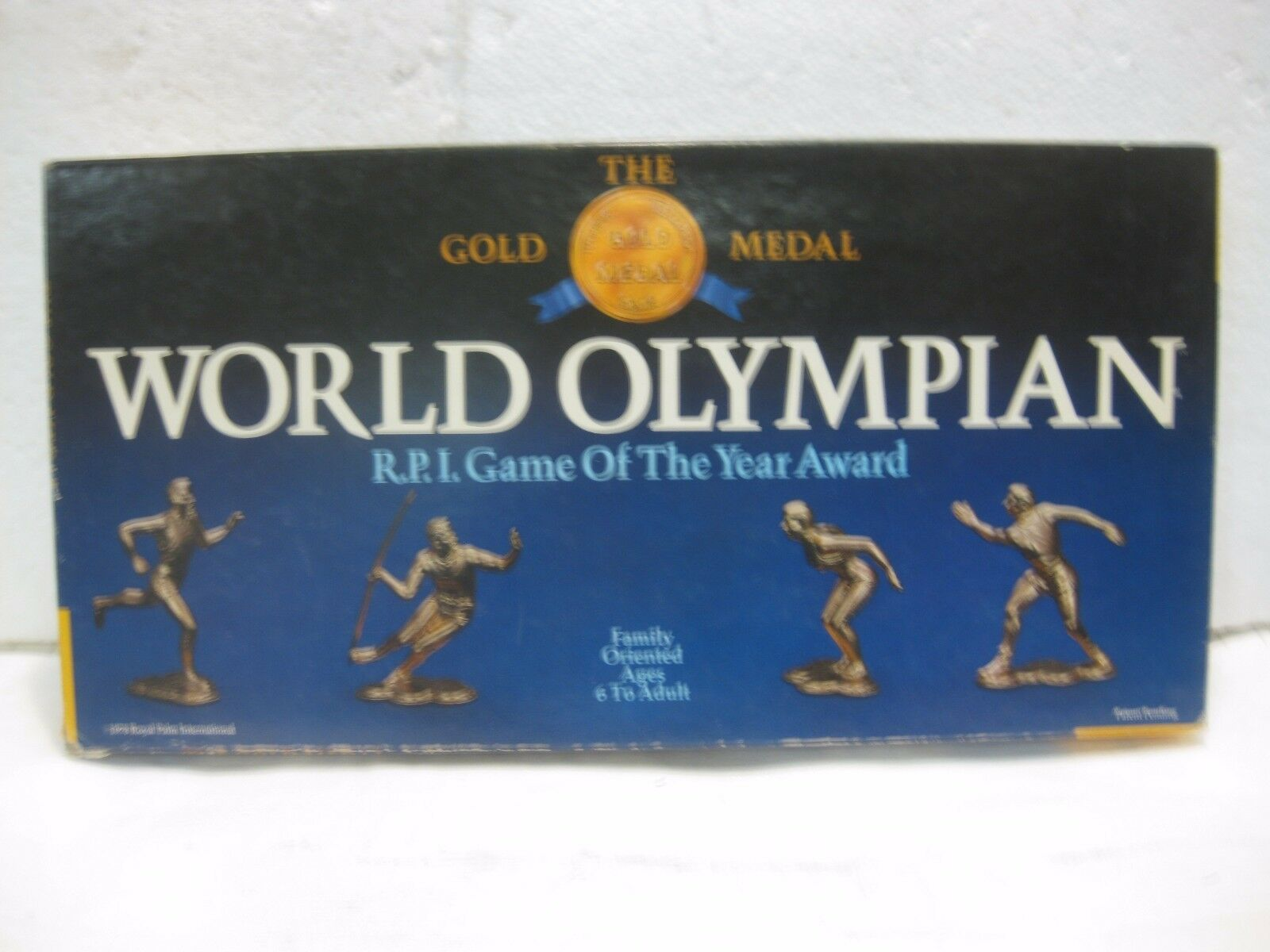 Vintage World Olympien Board Game 1978 de Royal Palm International gm388
