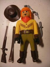 playmobil PLAY BIG AIRGAM BOYS airgamboys NEUF FAR WEST Cowboy Trapeur figure