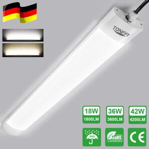 LED Feuchtraumleuchte Wannenleuchte SMD Feuchtraumlampe Röhre Deckenleuchte