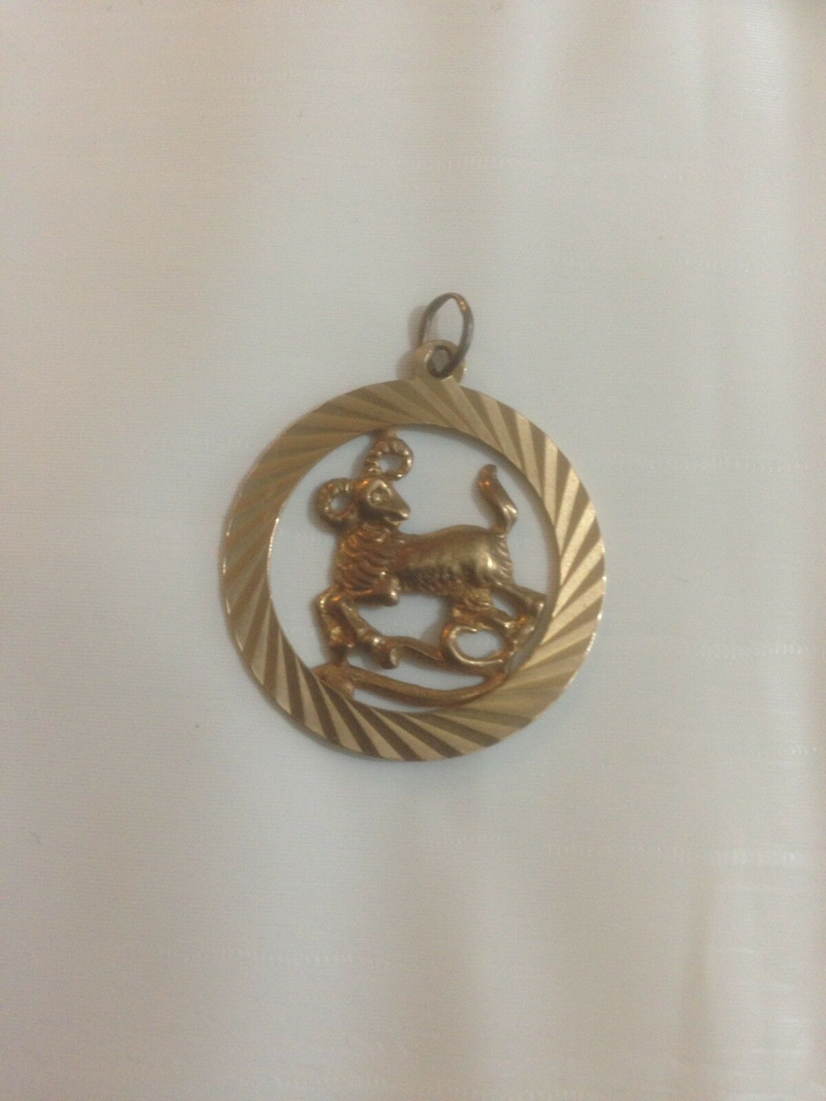 Splendido 9ct Solid Solid Solid oro Ciondolo vittoriano 5deebb