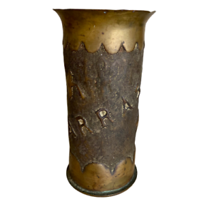 WWI-Trench-Art-Vase-Arras-France-Artillery-Shell