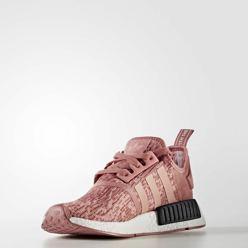 Adidas NMD R1 Womens Raw Pink Trace Pink Legend Ink LIMITED BY9648 Size 5.5-10