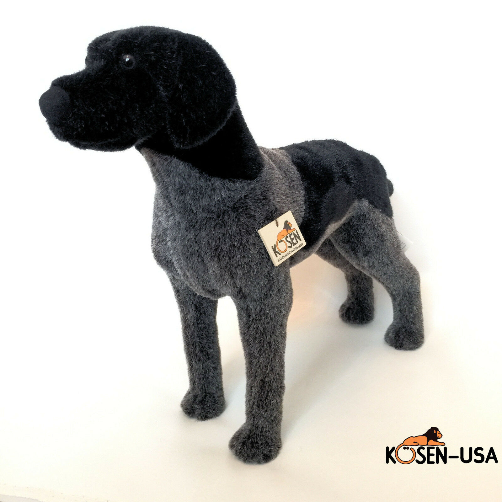Koesen Kosen German Pointer Dog 5521 Handmade in Germany Plush Stuffed Animal