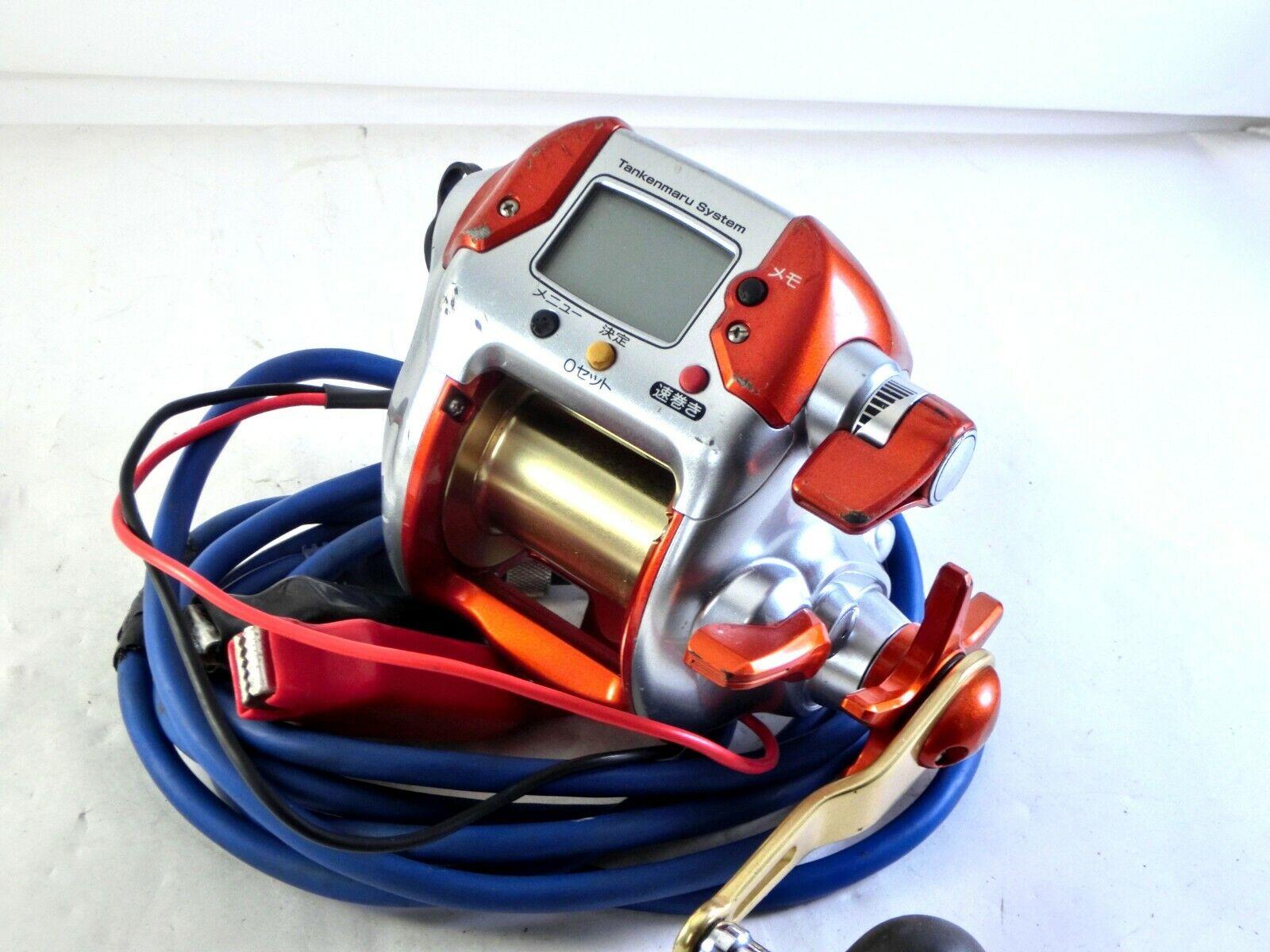 Shiuomoo Dendoumaru 3000 SQUID IKA specialee Electric Reel inglese uomoual Good