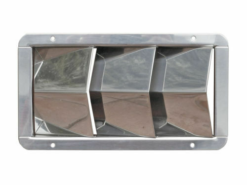 Stainless Steel 3 Slot Louvre Vent