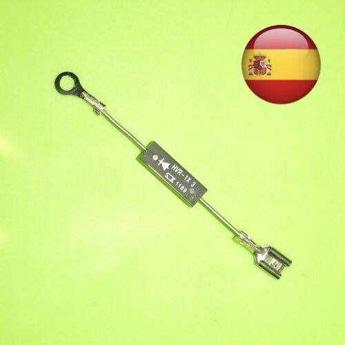✅ HVR-1X3 Original Diode Mikrowelle d202 1X4 High Voltage Spanien