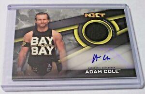 ADAM COLE AUTOGRAPH CARD TOPPS WWE NXT WRESTLING 2018   eBay