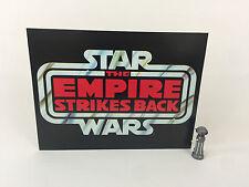"brand new Star Wars esb large logo backdrop For Display 16"" x 12"""