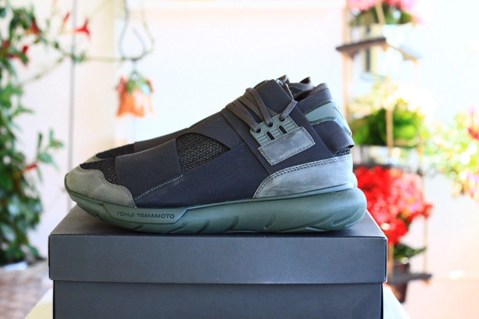 Adidas Y-3 QASA High Dark Olive 42 US8,5 *Yeezy Boost Ultra EQT NMD 4D Human 350