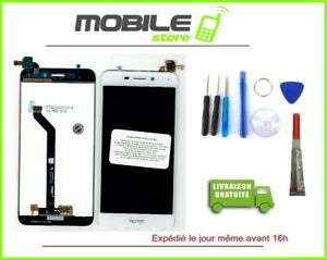 Vitre-Tactile-Ecran-LCD-Pour-Huawei-Honor-6C-Pro-JMM-L22-Blanc-Outil-Colle