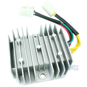 6-Wire-12V-DC-Voltage-Rectifier-For-Honda-Dirt-Bike-CH125-GY6-Quad