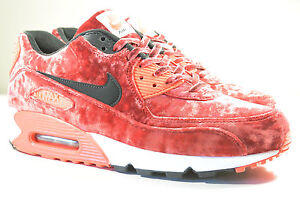 DS 2015 NIKE AIR MAX 90 25TH ANNIVERSARY VELVET INFRARED 9.5 SUPREME ATMOS 1