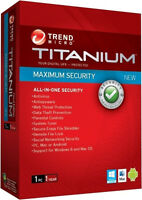 Trend Micro Maximum Security 2012 Security Software [free Upgrade To 2017]