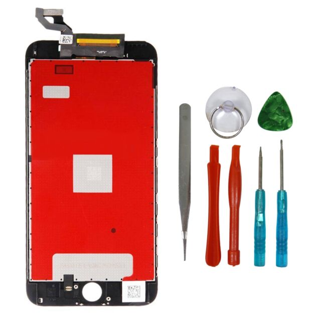 "For Black iPhone 6S Plus 5.5"" LCD Digitizer Touch Screen Assembly Replacement"