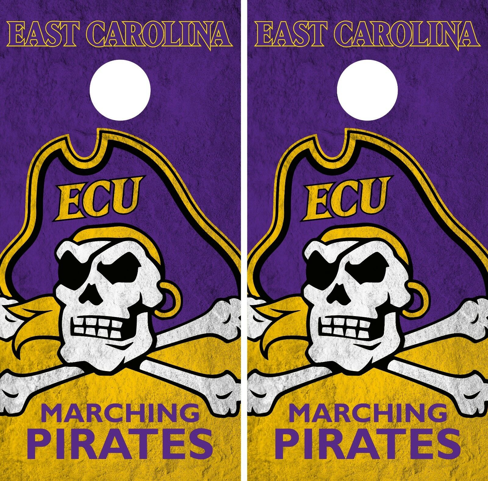 East Carolina Pirates Cornhole Wrap  NCAA College Game Skin Vinyl Decal Set CO769  hot limited edition