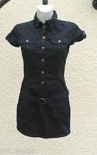 Robe Courte ou Tunique Noire Manches Courtes Pimkie Taille 38