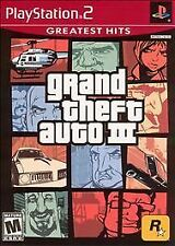 Grand Theft Auto III - PS2 Play Station Video Game