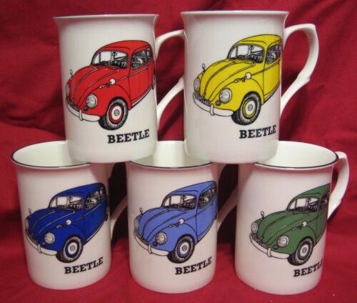 VW BEETLE VOLKSWAGEN car Fine Bone China Mug Cup Beaker