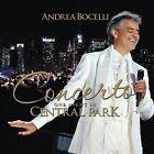 Concerto: One Night in Central Park by Andrea Bocelli (CD, Nov-2011, Decca)