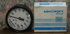 Ashcroft Pressure Gauge 2 12 1000 Lower 14npt 200 Psi Unused 1980s Vintage