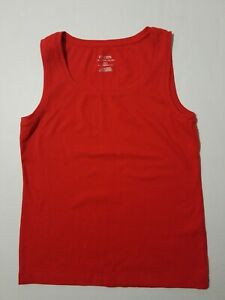 10d9d41ad41dd CHICO S The Ultimate Tee Coral Ribbed Sleeveless Tank Top Cotton ...