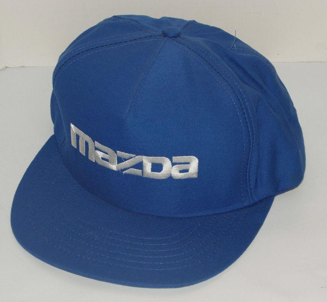 VINTAGE MAZDA BLUE MAZDA VINTAGE SNAPBACK CAP/HATEMBROIDEREDMADE IN USA 8b7cb6
